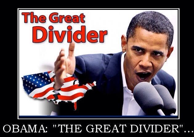 Obama Great Divider