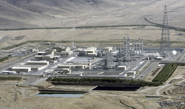 An aerial view of a heavy-water production plant in the central Iranian town of Arak. Iranian state TV on Monday, Jan. 20, 2014 announced the country has started implementing a landmark deal struck between six world powers and Tehran to ease Western sanctions in exchange for Iran opening its nuclear program to international inspection and limiting its uranium enrichment, which is a possible pathway to nuclear arms. (AP Photo/ ISNA, Arash Khamoushi, File)