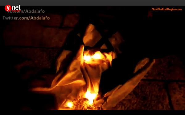 muslims-set-fire-to-police-station-in-jerusalem-burn-israeli-flag-near-temple-mount-february-26-2014