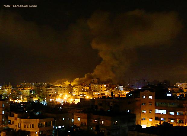 israel-strikes-hamas-targets-in-gaza-july-7-2014