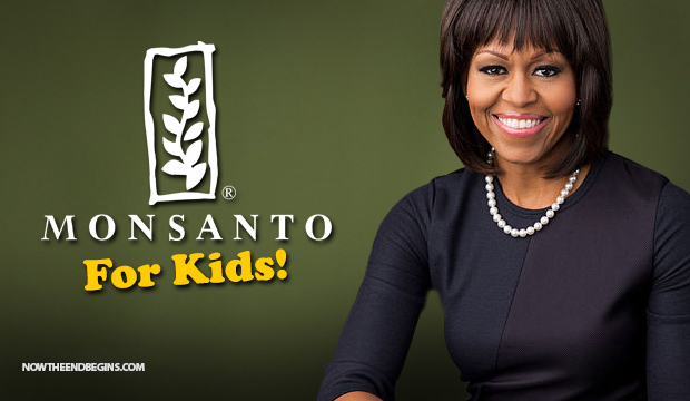michelle-obama-teams-up-with-poison-producer-monsanto-to-promote-gmo-frankenfood