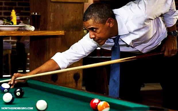 obama-shoots-pool-while-border-crisis-rages