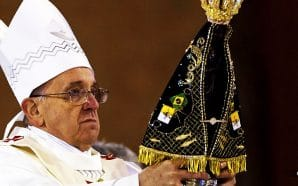 pope-francis-black-madonna-mariology-virgin-mary-worship-fourth-part-trinity