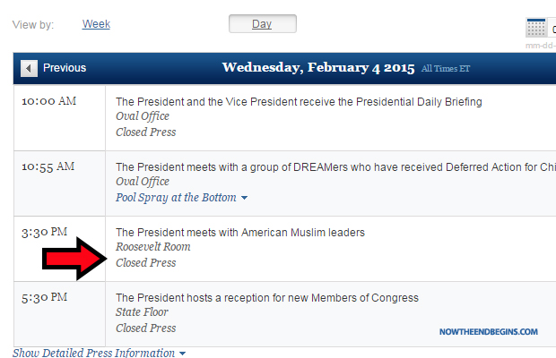 obama-bans-press-photographers-from-secret-closed-door-meeting-white-house-with-american-muslim-leaders-schedule