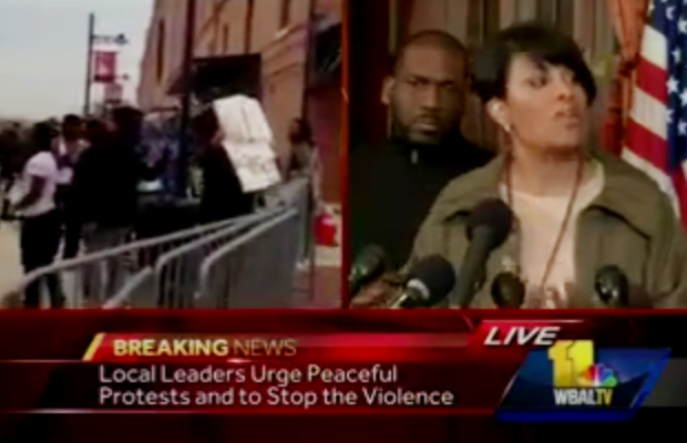 baltimore-mayor-says-she-allowed-race-rioters-space-to-steal-destroy-al-sharpton