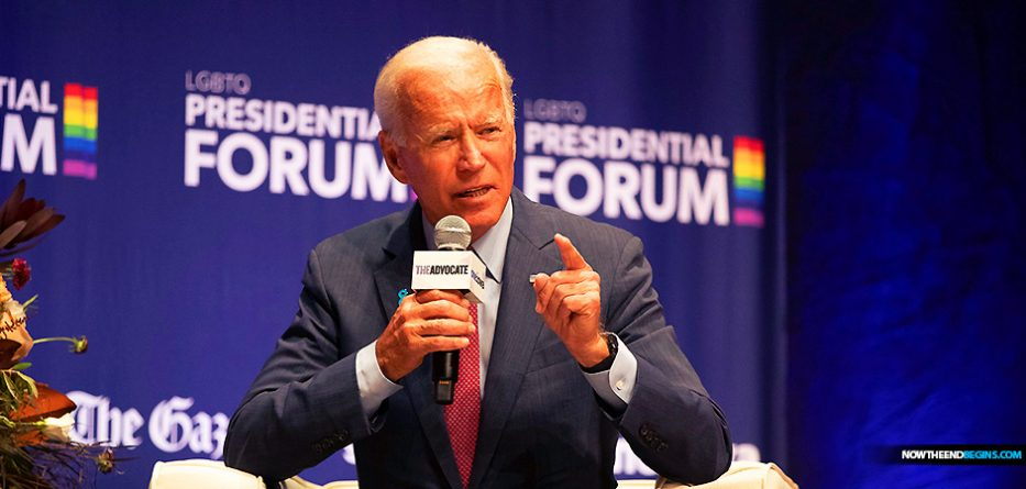 JOE BIDEN SAYS BIBLE BELIEVING CHRISTIANS VIOLATE LGBT RIGHTS BY SIMPLY EXISTING