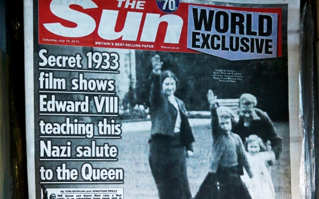 secret-film-queen-elizabeth-nazi-salute-1933