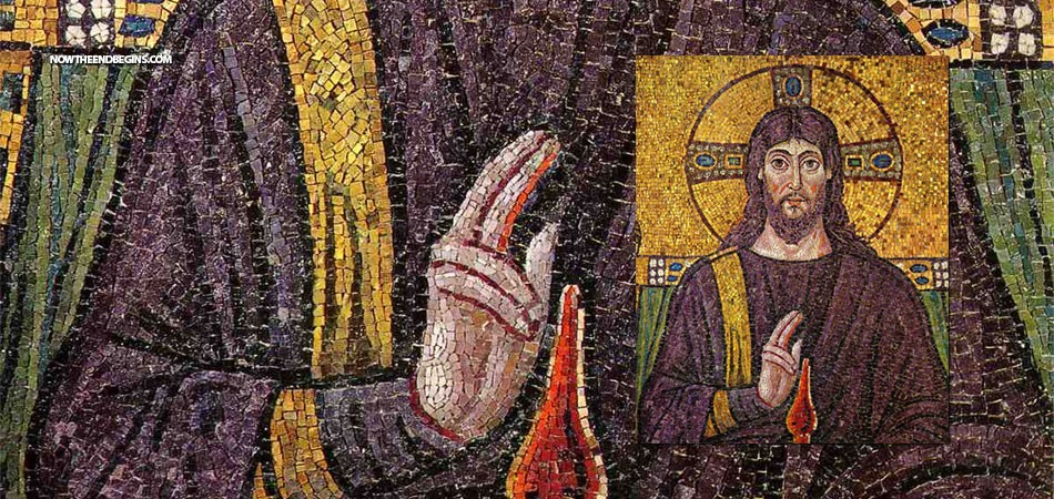 catholic-painting-of-christ-making-two-finger-nazi-salute-vatican