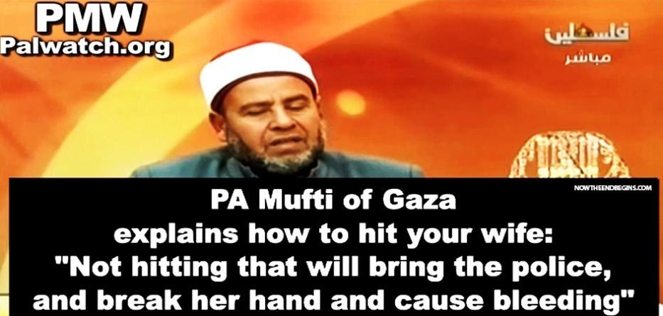 mufti-gaza-palestine-instructs-on-how-to-beat-your-wife-muslim-islam