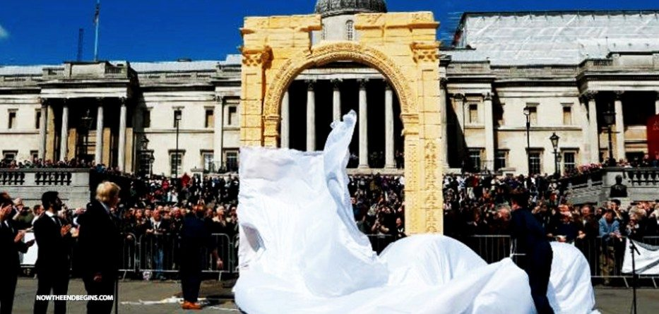 temple-of-baal-arch-unveiled-in-london-palmyra-syria-nteb