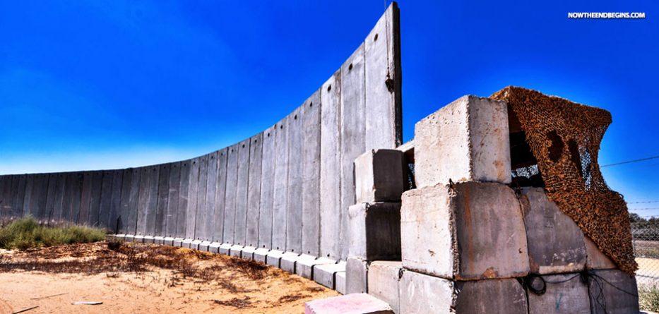 israel-netanyahu-building-massive-wall-gaza-border-islamic-terrorism-jews-end-times-nteb