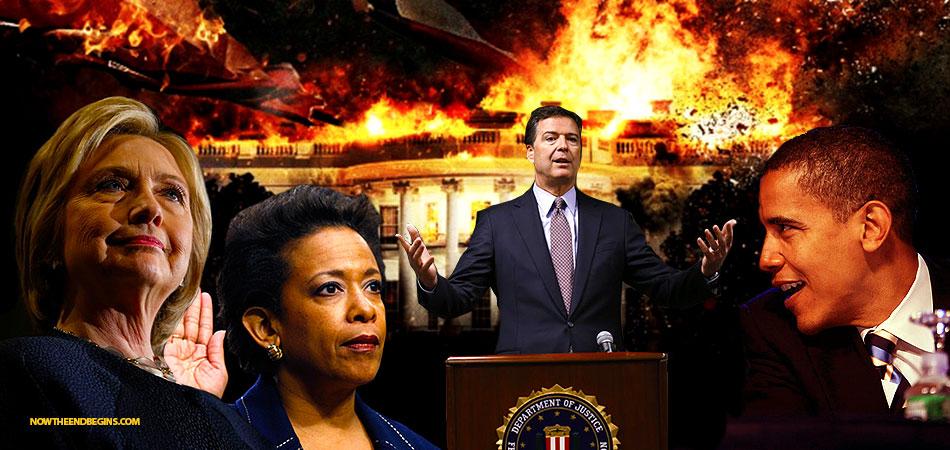 crooked-hillary-james-comey-fbi-loretta-lynch-barack-obama-private-email-server-scandal-nteb
