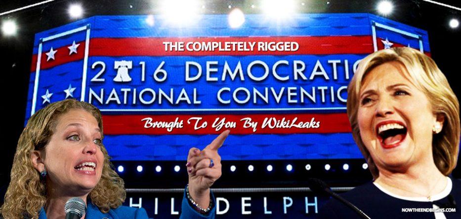 wikileaks-emails-show-dnc-primary-rigged-against-bernie-sanders-donald-trump-crooked-hillary-debbie-wasserman-schultz