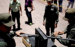 police-in-venezuela-crush-confiscated-guns-disarms-citizens-no-second-amendment