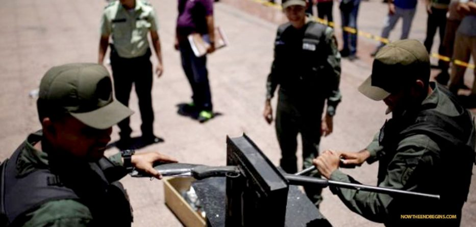 police-in-venezuela-crush-confiscated-guns-disarms-citizens-no-second-amendment
