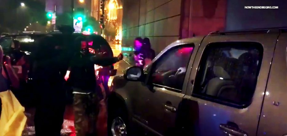 protesters-attack-donald-trump-motorcade-after-rally-in-minneapolis