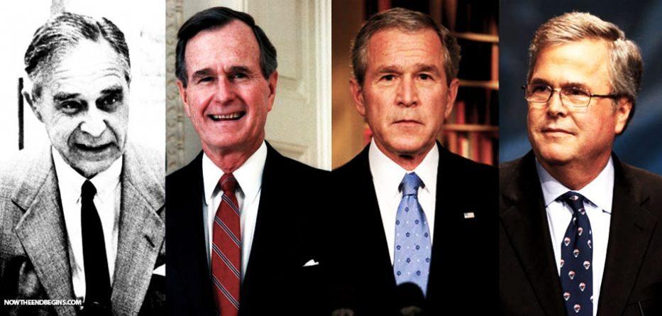 bush-crime-family-new-world-order-voting-for-hillary-clinton