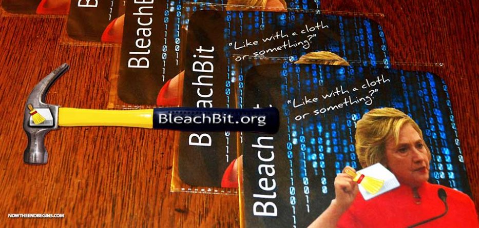 bleachbit-crooked-hillary-missing-emails-cloth-or-something-blackberry-hammer-clinton-foundation