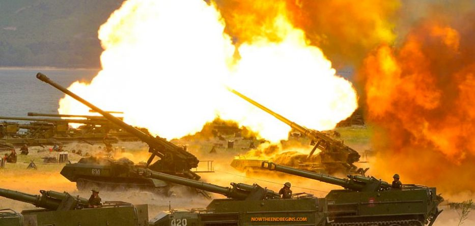 north-korea-largest-ever-live-fire-drill-nuclear-world-war-III-end-times