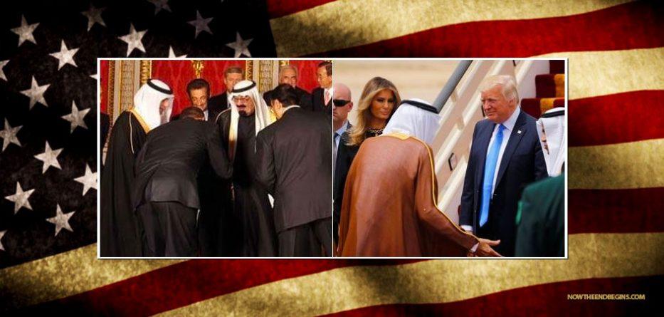 unlike-obama-president-trump-dd-not-bow-saudi-arabia-meeting-king-maga