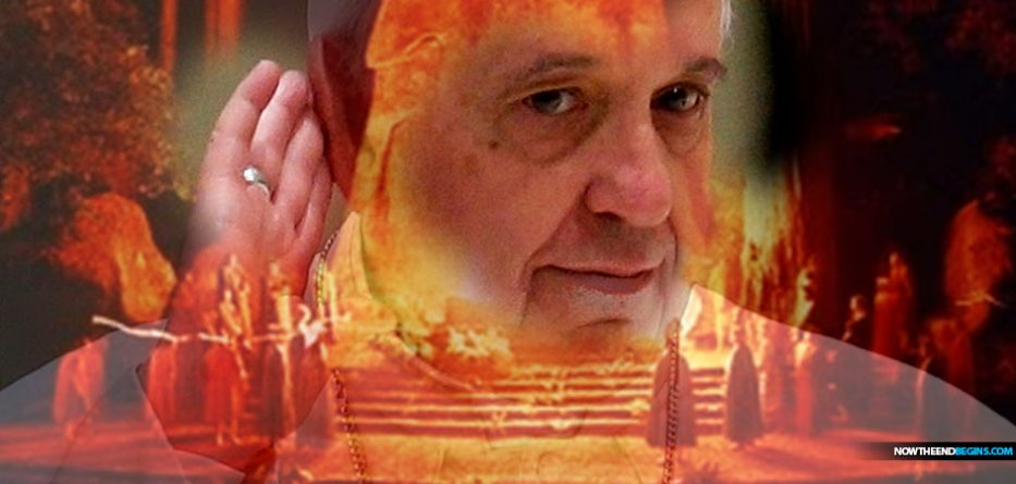 pope-francis-urges-cry-earth-new-age-mysticism-nteb-bohemian-grove-cremation-care