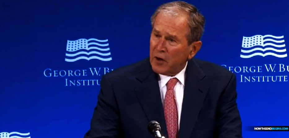 george-bush-slams-trump-demands-globalism-speech-nteb