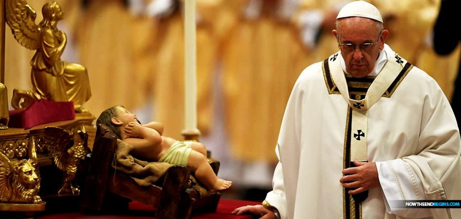 catholic-church-pope-francis-christmas-message-baby-jesus-divided-jerusalem-antichrist-now-end-begins