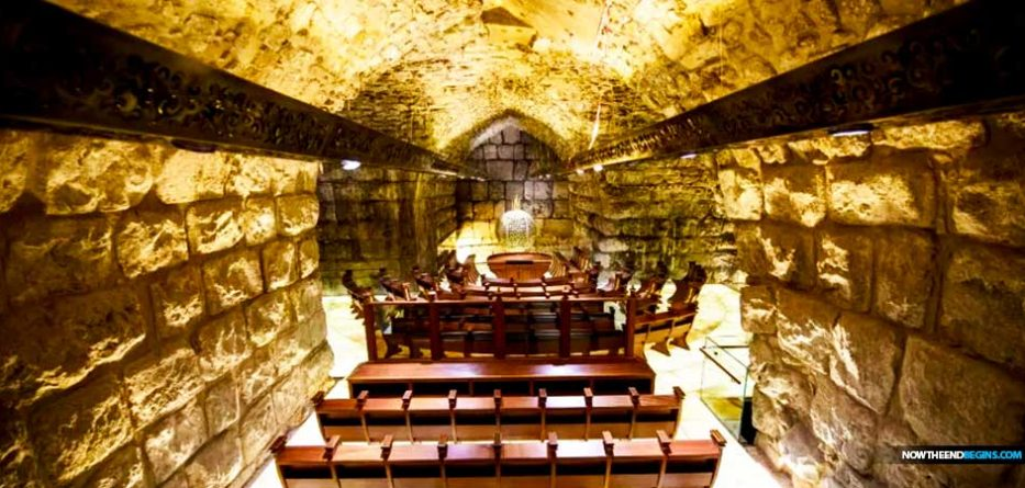 jewish-synagogue-opens-tunnel-under-western-wall-jerusalem-israel-now-end-begins