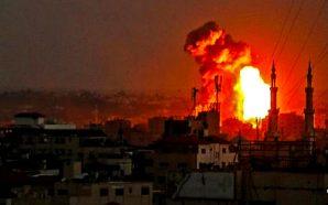 israel-air-force-idf-strikes-targets-gaza-strip-hamas-war-looms-nteb