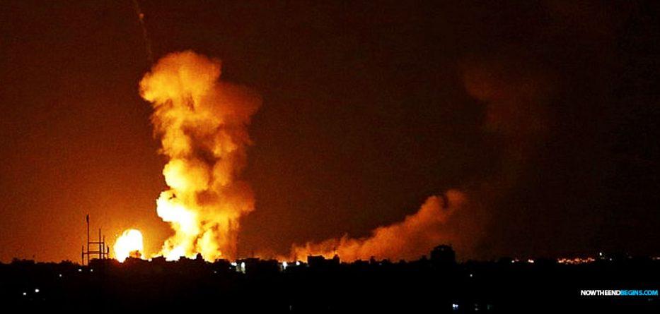 israel-idf-hamas-rockets-gaza-strip-border-august-8-2018