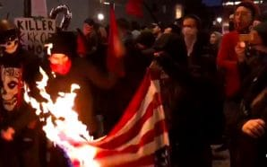antifa-burns-american-flag-portland-oregon-proud-boys
