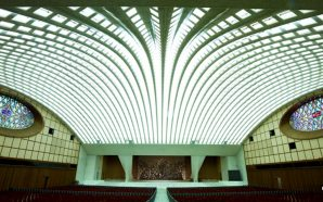 hall-of-pontifical-audiences-pope-paul-v1-audience-building-reptile-snake-dragon-revelation-17-catholic-church