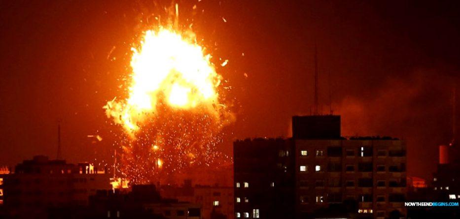 israel-idf-destroys-hamas-run-media-station-gaza-strip