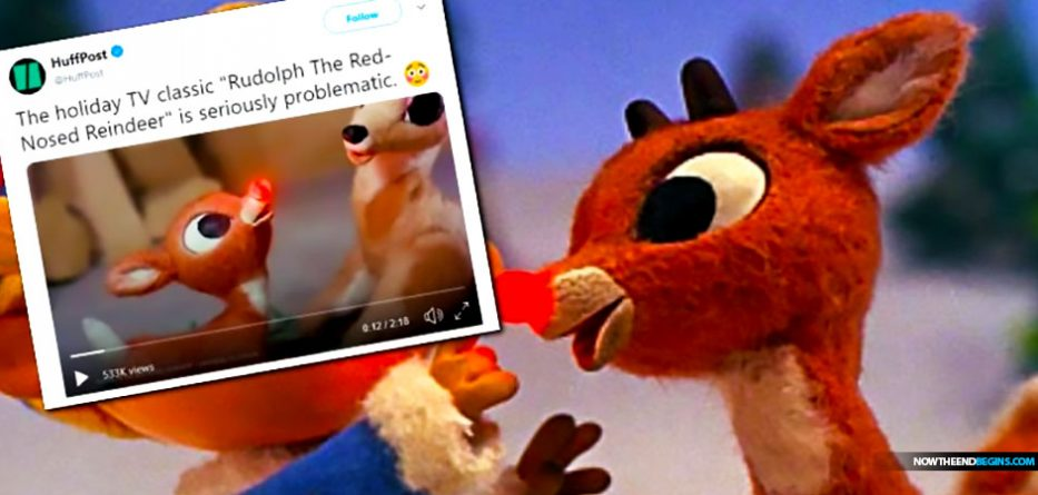 liberals-declare-war-rudolph-red-nosed-reindeer-homophobic-racist-seriously-problematic-huff-post-christmas-classic