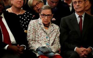 ruth-bader-ginsburg-broken-ribs-hospitalized-wool-gloves-president-trump-supreme-court-justice-pick