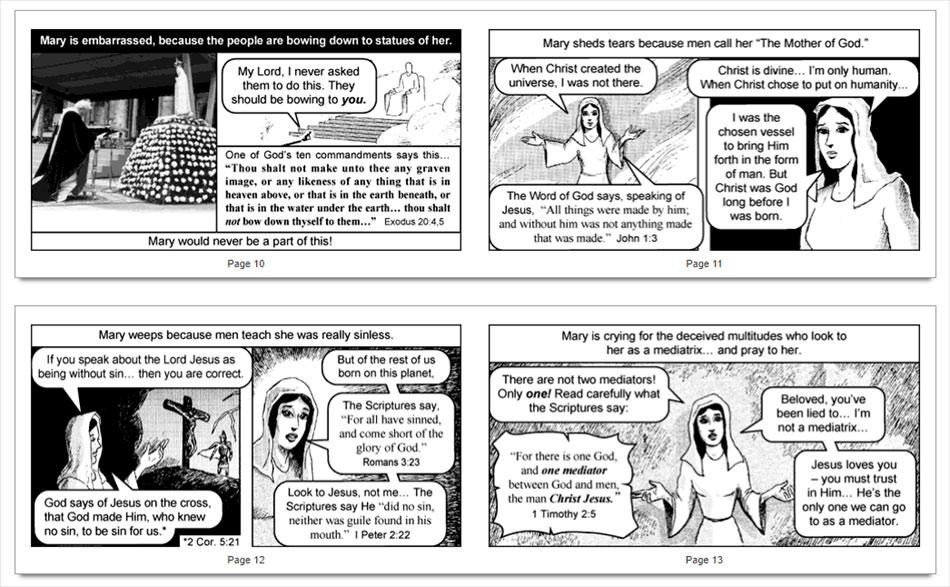 pope-francis-catholic-church-mary-worship-chick-tracts-idolatry