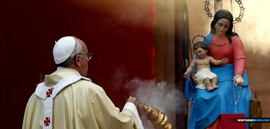 pope-francis-jorge-bergoglio-solemnity-of-mary-worship-not-optional-catholic-church-pagan-idol-worship