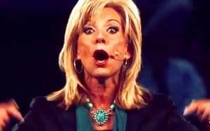 """Then, in typical Beth Moore fashion, she claims she had an """"experience"""" that changed the way she thought about Christianity — that led her to these conclusions."""