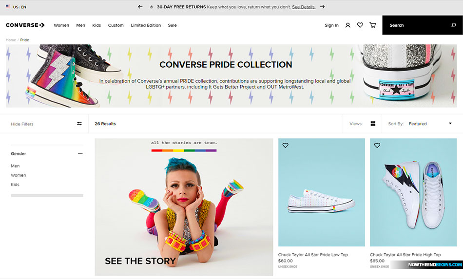 In celebration of Converse's annual Pride collection, which started in 2014, contributions are supporting longstanding local and global partners, including It Gets Better Project and OUT MetroWest.