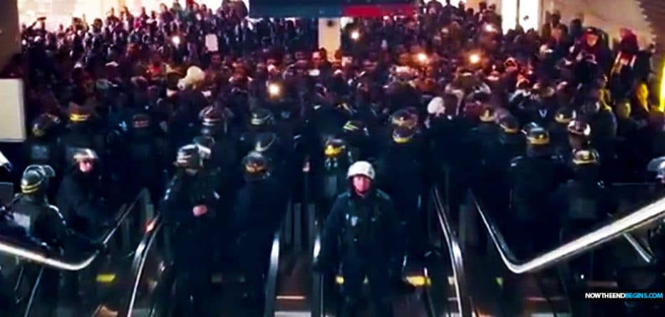 Video showed hundreds of illegal Muslim migrants storming a French airport and occupying an entire terminal Sunday, demanding to meet with the country's prime minister.