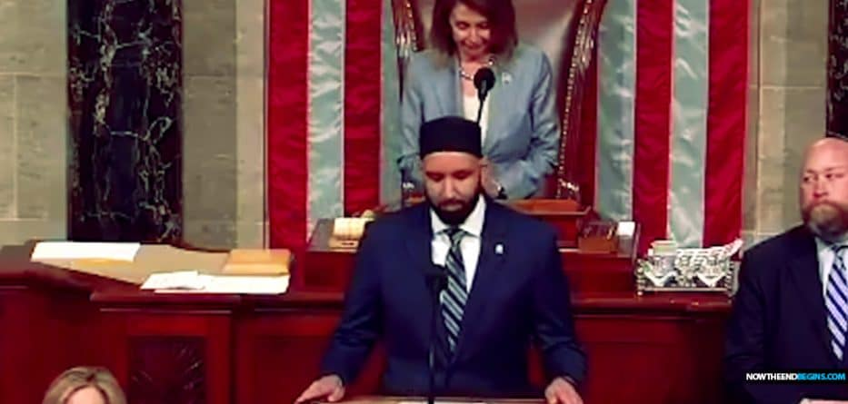 Anti-Zionist imam delivers opening prayers in US House