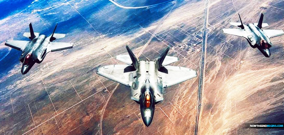 Nearly a dozen Air Force F-22 stealth fighters have deployed to the Persian Gulf state of Qatar, part of a force buildup requested by U.S. Central Command in May in response to what it called heightened Iranian threats against American forces in the region.