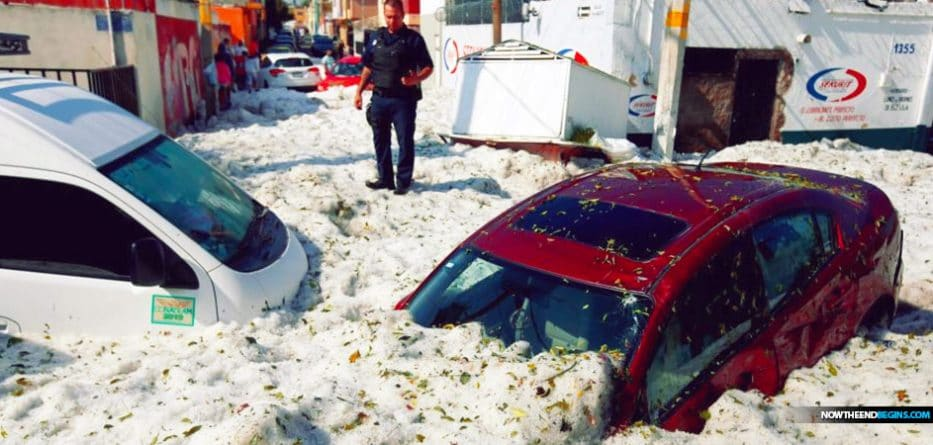 Freak hailstorm buries Mexican city Guadalajara in 7 feet of slush