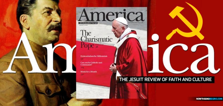 The Jesuit flagship publication in the United States, America magazine, has published an article defending Marxism and comparing the murderous, atheist ideology to Catholicism