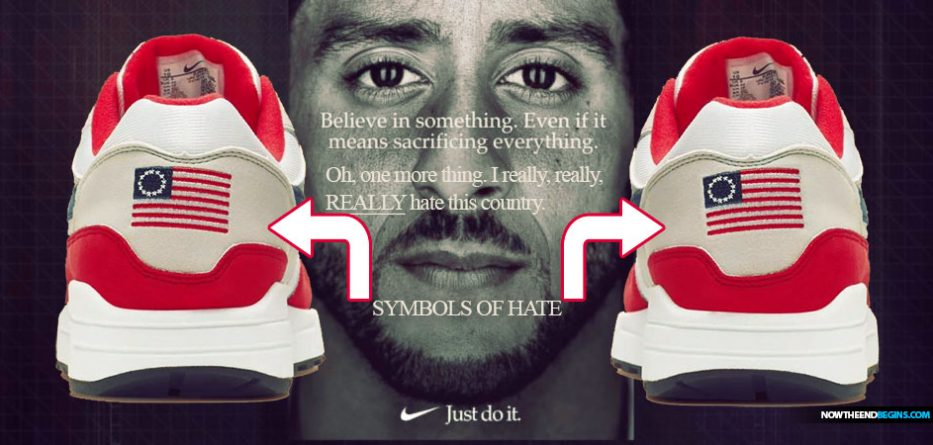 Nike Cancels Release Of American Flag Sneakers After Colin Kaepernick Says It's Offensive