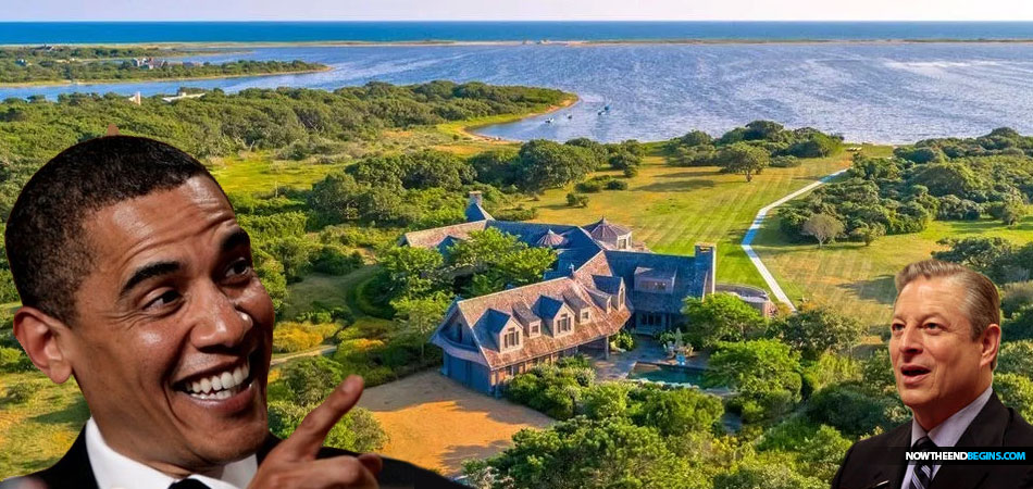 Barack Obama latest climate change hoaxer to purchase an oceanfront home