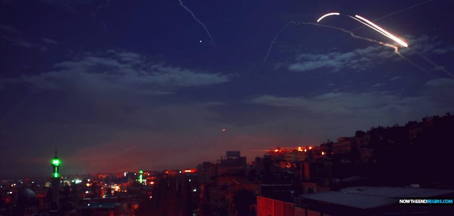 "Israeli aircraft on Saturday struck Iranian forces near Damascus that had been planning to launch ""killer drones"" at targets in Israel, an Israeli military spokesman said."