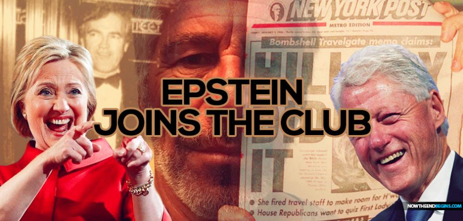 Jeffrey Epstein Joins The Clinton Body Count