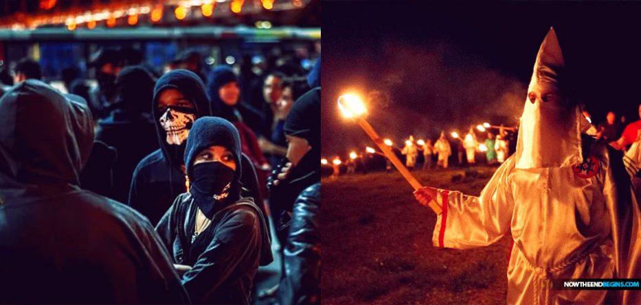 The Ku Klux Klan is slowly rising again