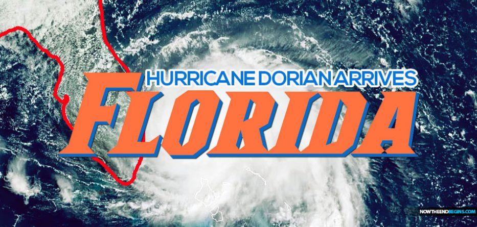 Hurricane Dorian reaches Florida